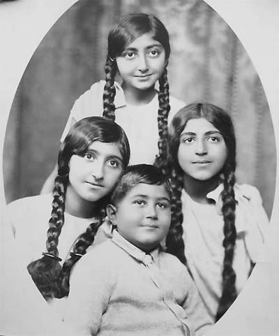 The children of Ahmad Shah Qajar