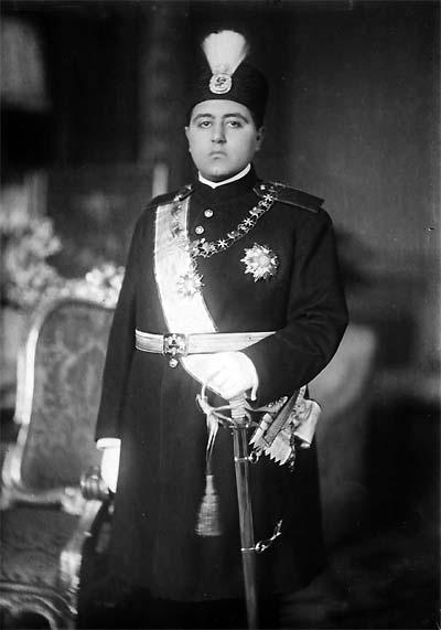 Ahmad Shah Qajar of Persia