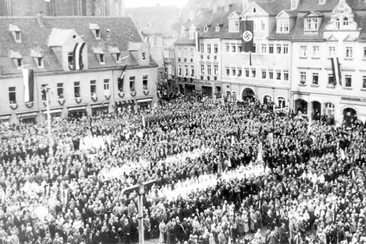 an analysis of the stages of the nazi movement gleichschaltung The six stages that led to the holocaust join the hitler youth movement jews were not allowed to leave their ghetto without permission from nazi officials.