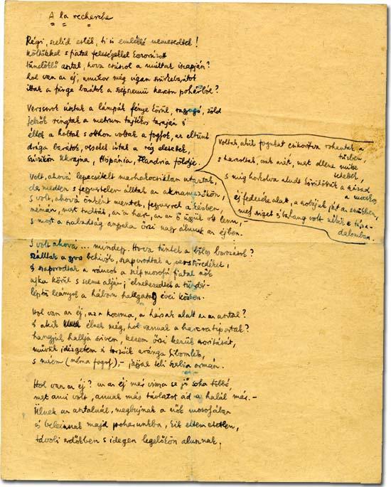 Miklos Radnoti Poems Beautiful Poem of Radn ti