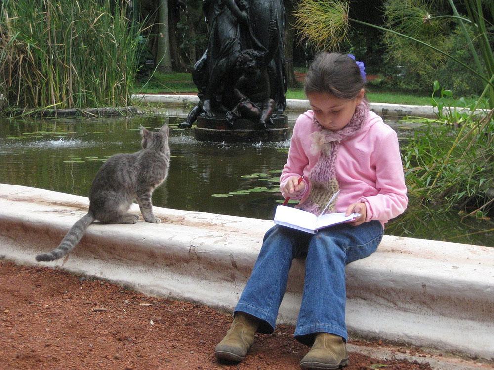 Poemas del r o wang los gatos de buenos aires el bot nico for Ahuyentar los gatos del jardin