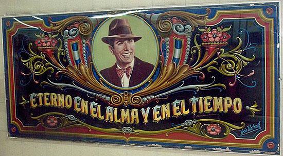 Carlos Gardel eterno en el alma y en el tiempo