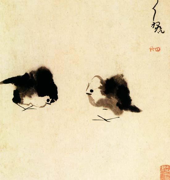 Lai Da (16. század vége) tusrajza, Shanghai Múzeum