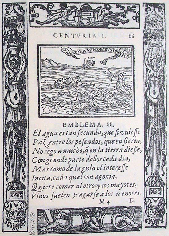 Covarrubias, Emblemas morales, 1611, Emblem I.88