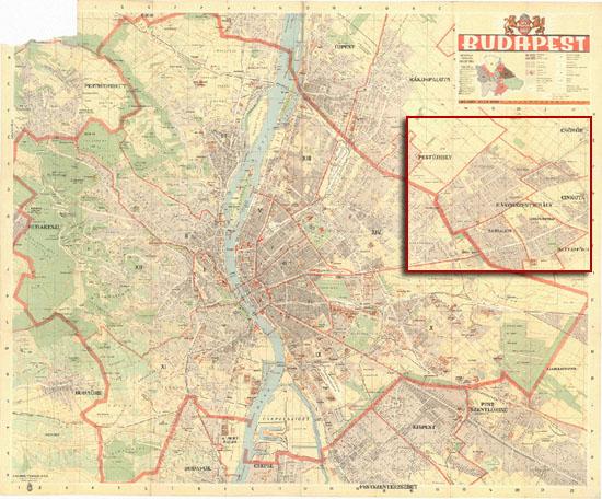 budapest térkép 1940 A Wang folyó versei: Történelem alulnézetből budapest térkép 1940