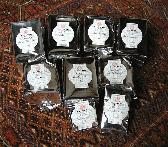 Tea Jing Lu internetes boltjából, Kanton (Guangzhou), Kína