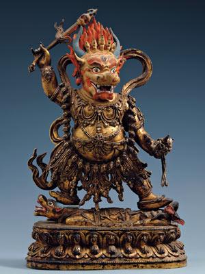 Tibetan yama in Dahlem