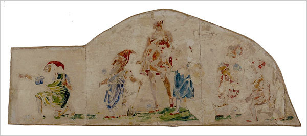 Poemas del r o wang frescoes rediscovered for Bruno schulz mural