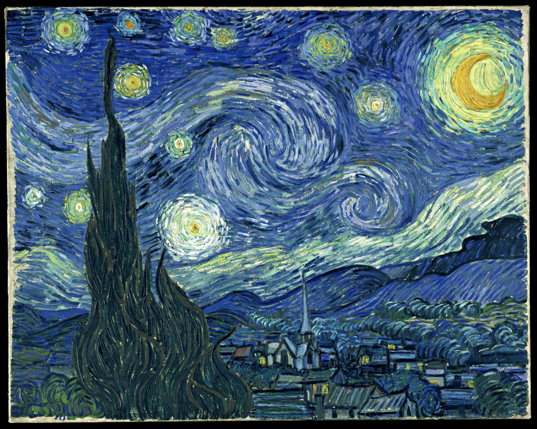 van gogh starry night essay Without doubt, vincent van gogh's painting the starry night (fig 1) is an iconic  image of modern culture one of the beacons of the museum of modern art,  every.