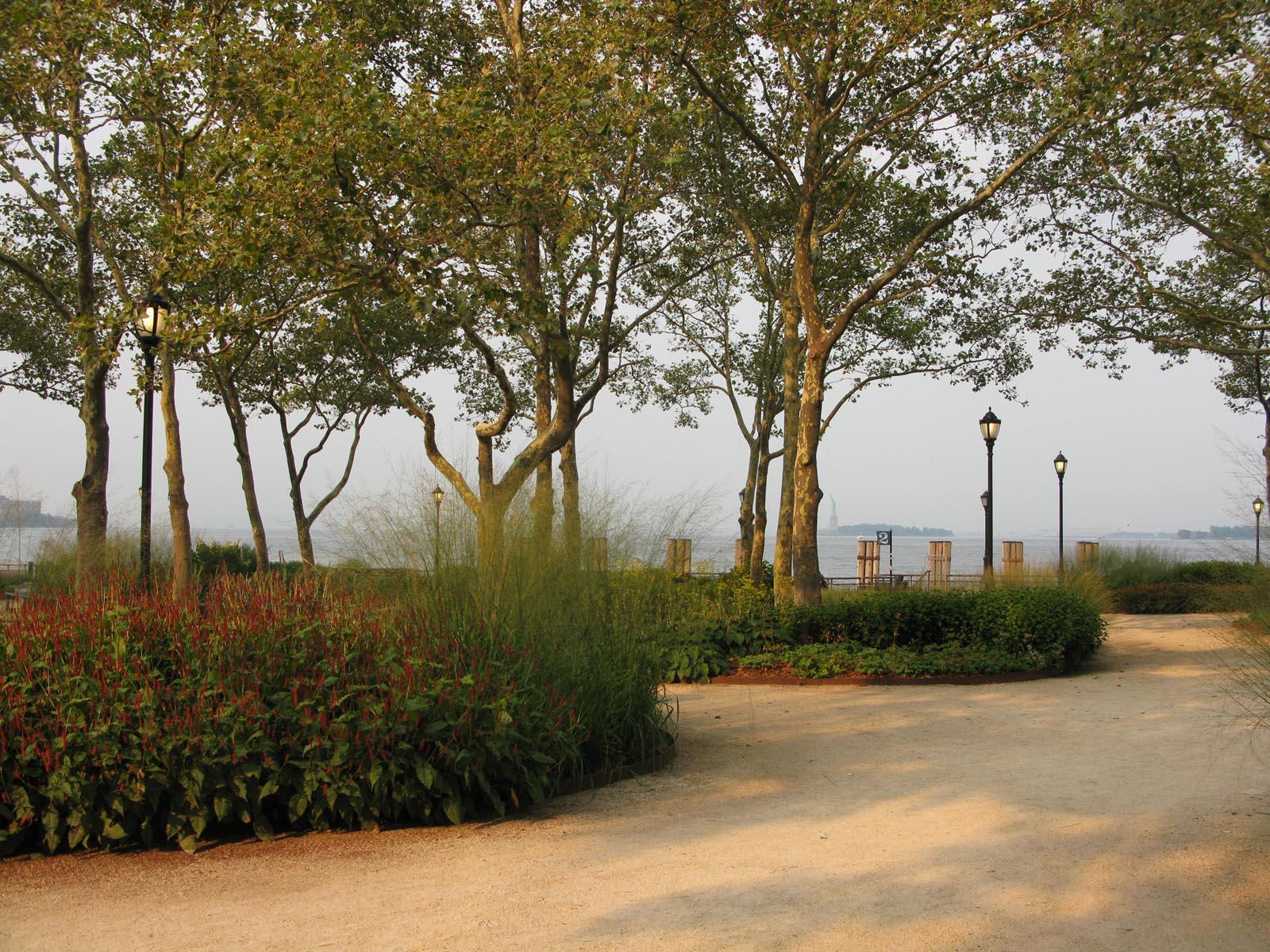 Poemas del río Wang: The Battery Gardens