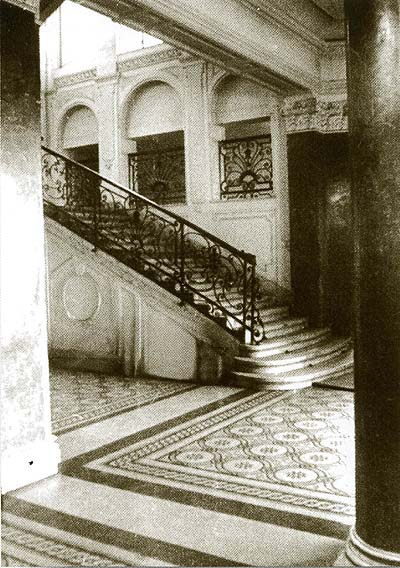 Kőbánya, Casino, entrance hall, 1963