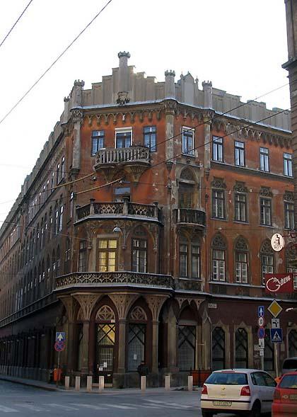 Budapest, Pekáry-ház, 2003