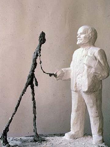 Leonyid Szokov: Lenin és Giacometti (1987)