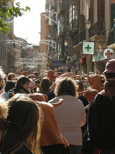 Palma de Mallorca, Sant Antoni, blessing