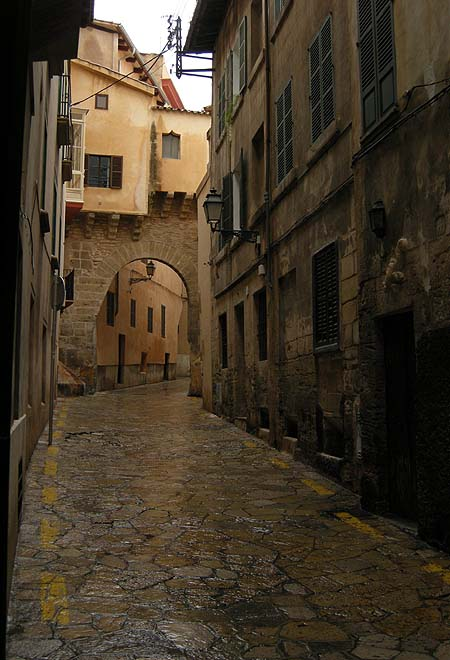 Palma de Mallorca, Street of the Gekko