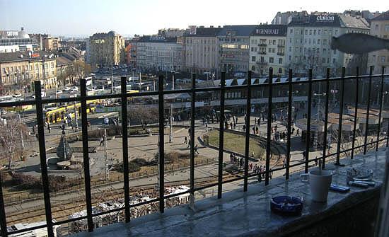 Moszkva téri perspektíva