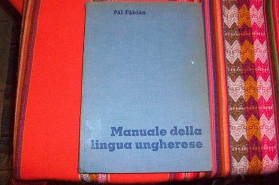 Pál Fábián, Manuale della lingua ungherese