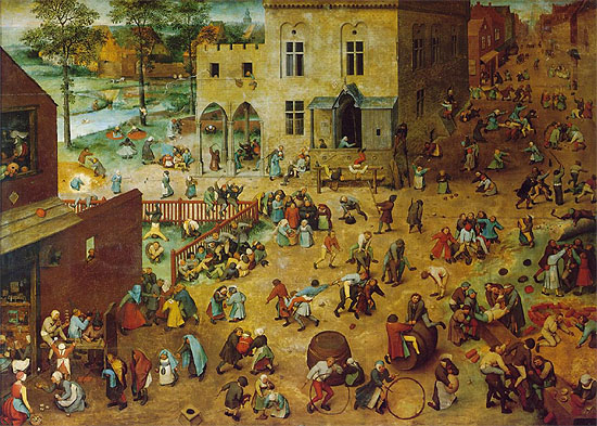 id. Pieter Brueghel, Gyermekjtkok (1560)