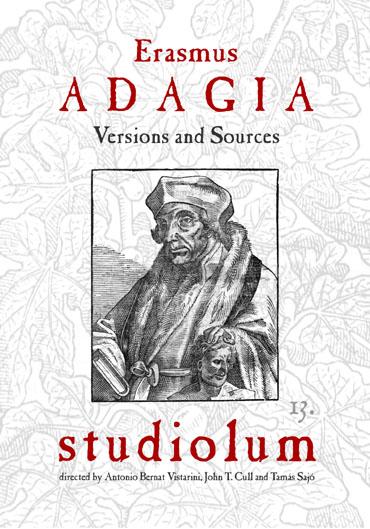 Erasmus: Adagia. Edición CD por Studiolum
