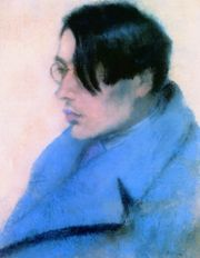 József Rippl-Rónai, Portrait of Lőrinc Szabó (1923)