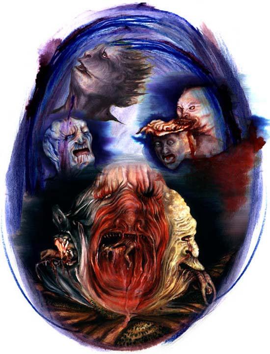 Suloni Robertson, A Pokol kilencedik köre, illusztráció