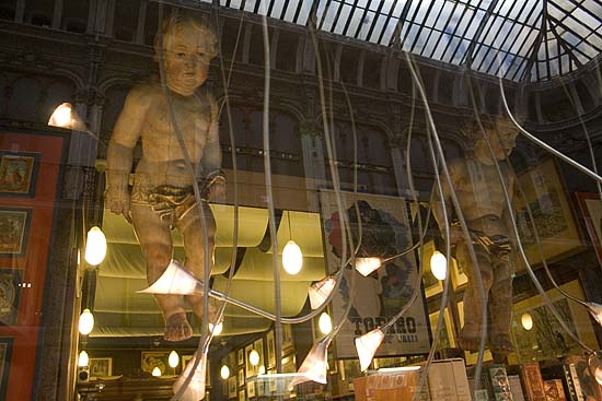 Torino, antiquarian bookshop