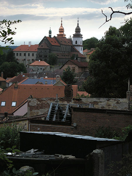 Třebič (Trebitsch), Jewish quarter and cemetery