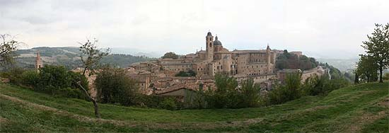 Urbino, panorma