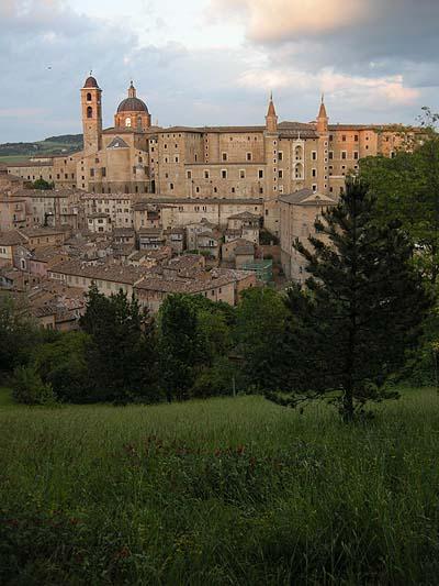 Urbino, panoráma