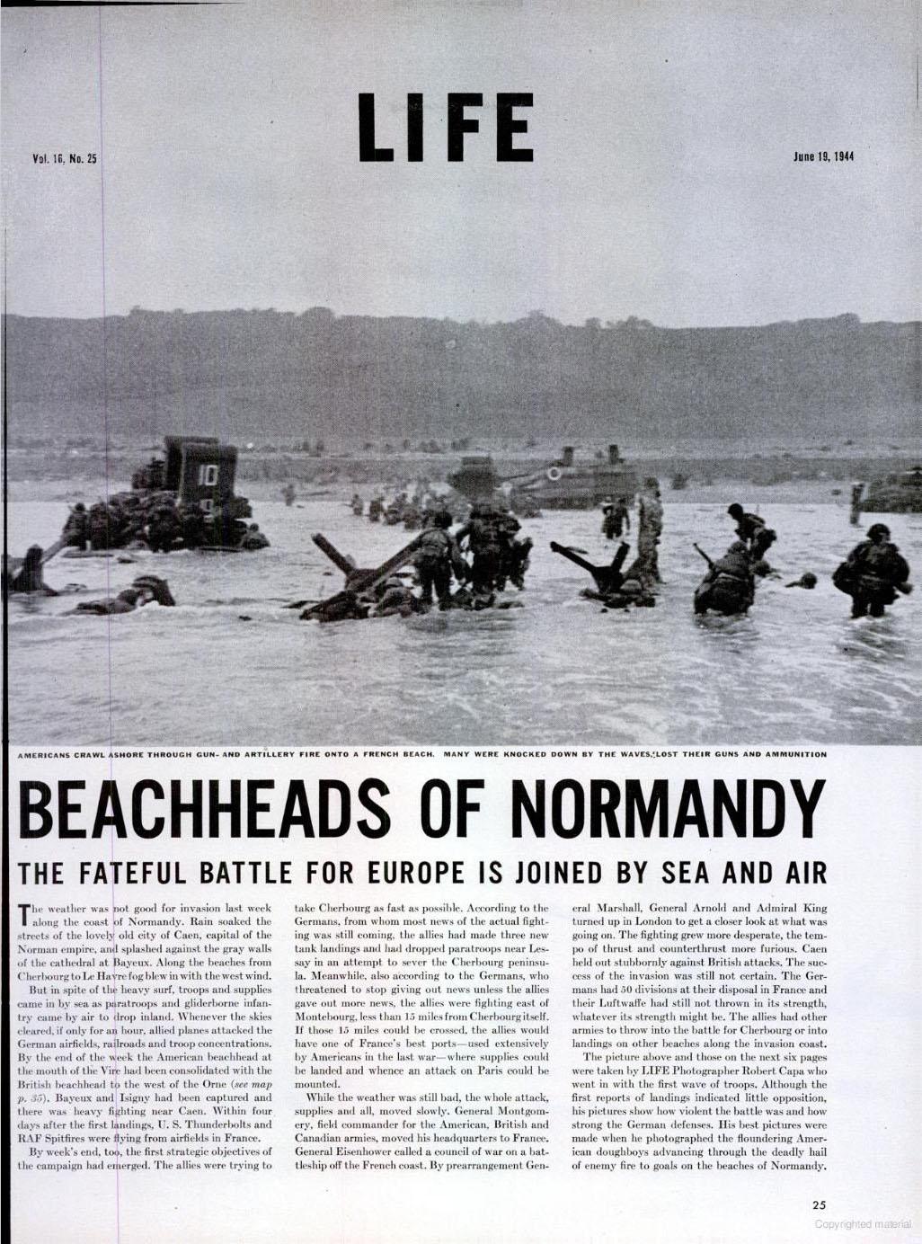 film landung in der normandie